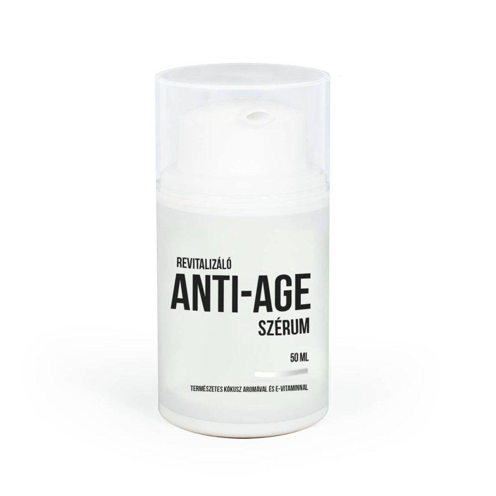 Természetes Hidratáló Arckrém   Anti-Age Szérum (50ml)